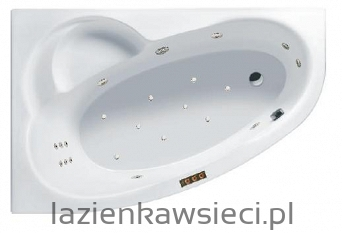 WANNA LAGUNA II 1500X955  Z HYDROMASAŻEM ACTIMA JOY AIR