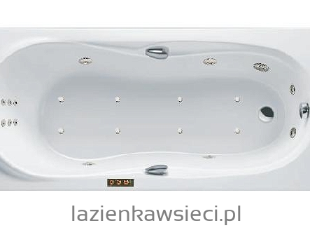 WANNA ELEGANCE 1495X705 Z HYDROMASAŻEM OPTIMA AQUA
