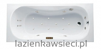 WANNA CLESIS LUX 1695X750  Z HYDROMASAŻEM OPTIMA AQUA