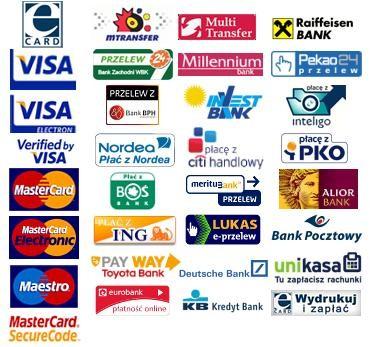 Akceptujemy płatności.